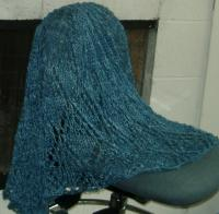 Lisa Souzas El Dorado yarn in Sapphire