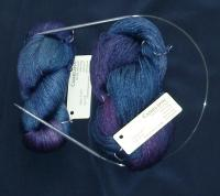 Handmaiden Camelspin in Ultraviolet colorway